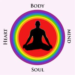 Not everyone feels the connections between the body, mind heart and soul