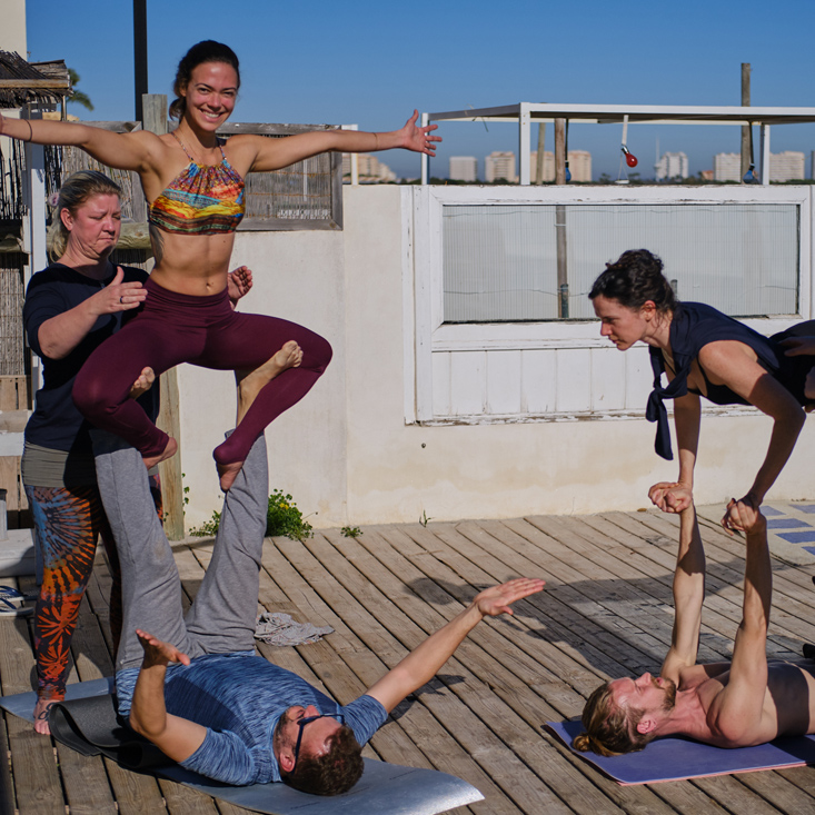 Yoga & Acroyoga festival in Spain