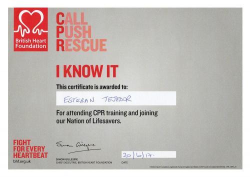 CPR · Esteban Tejedor